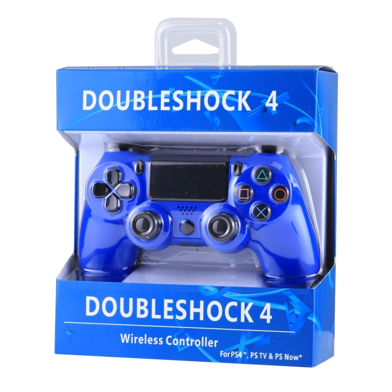 Doubleshock 4 Wireless Blue Controller  (unofficial)